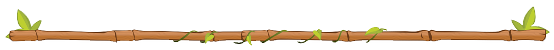 image of a wooden stick with leaves